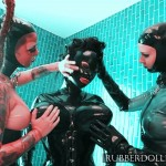 latex and rubber girls